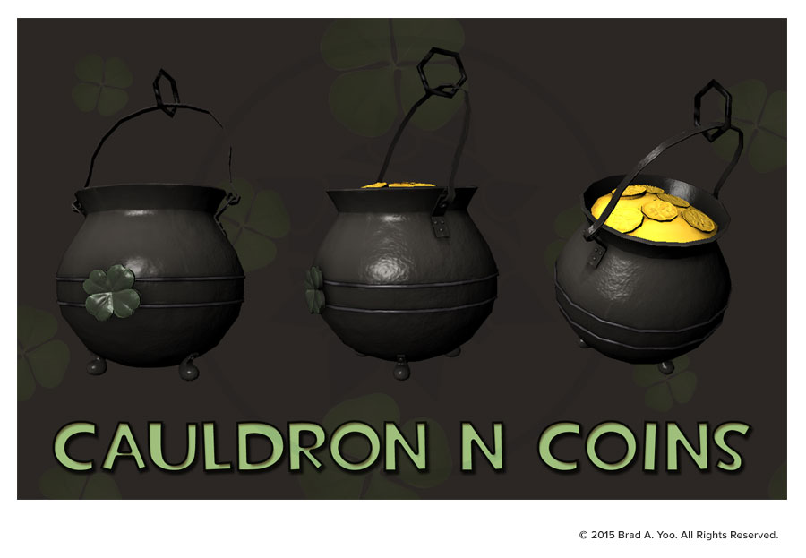 Cauldron 'n' Coins rendering