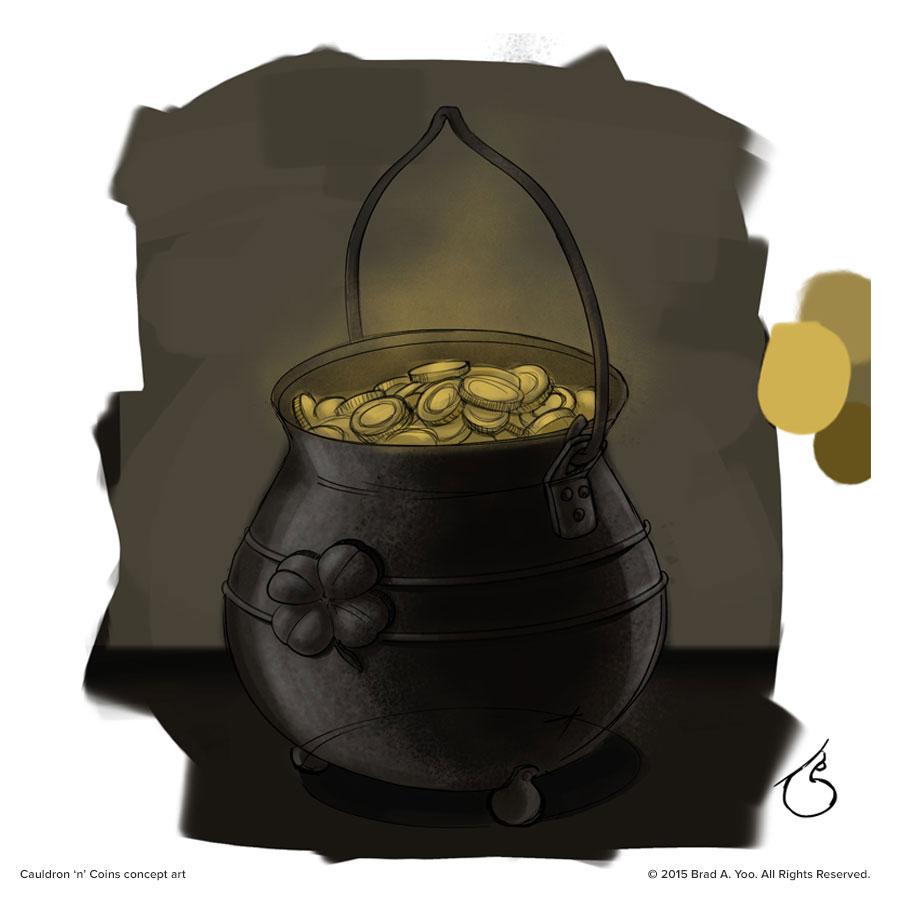Cauldron 'n' Coins concept art