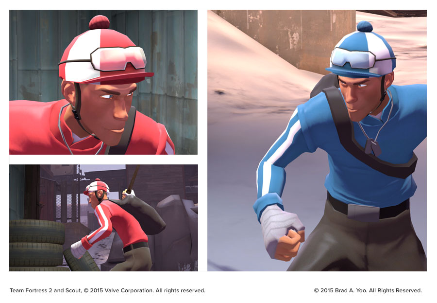 Jockey Helmet and sleeves In-game renders.