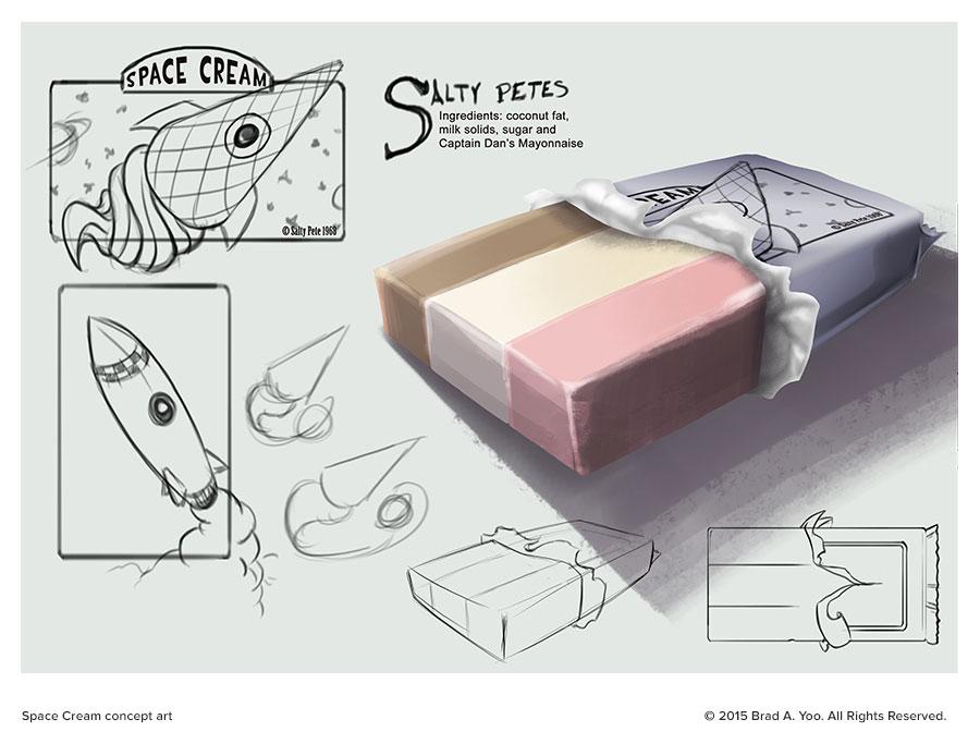 Space Cream concept art