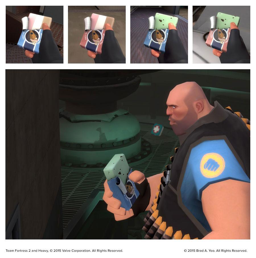 Space Cream In-game renders
