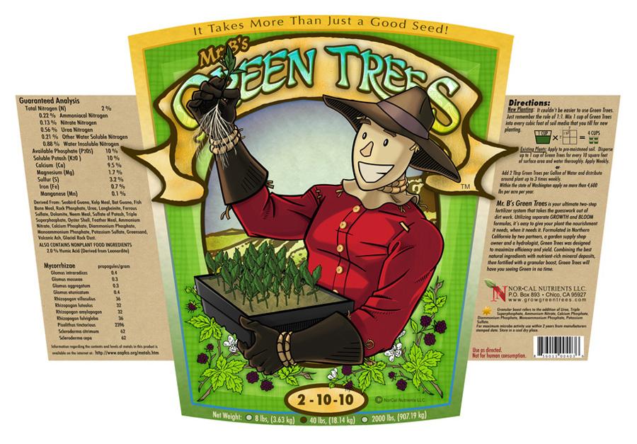 Mr. B's Green Trees Cuttings