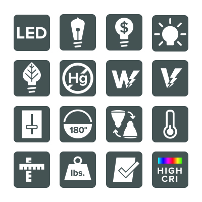 Vonn LED icons