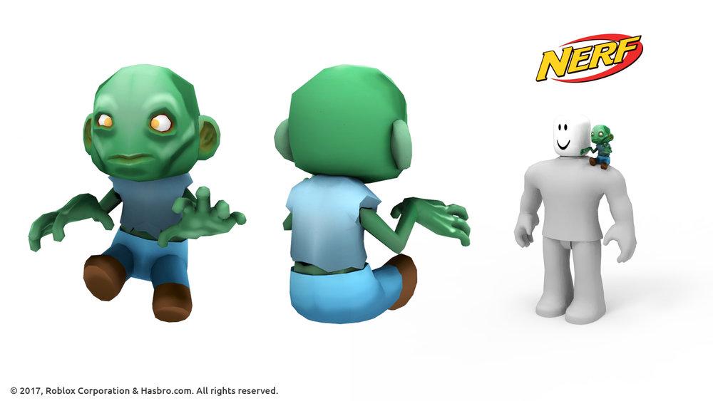 Nerf Zombie Friend