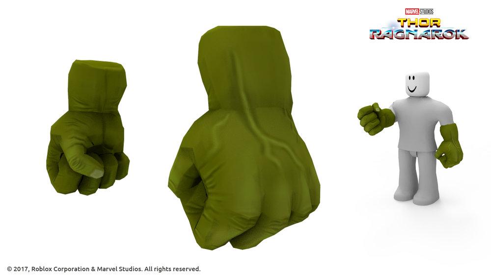 Hulk's Fists - Thor Ragnarok