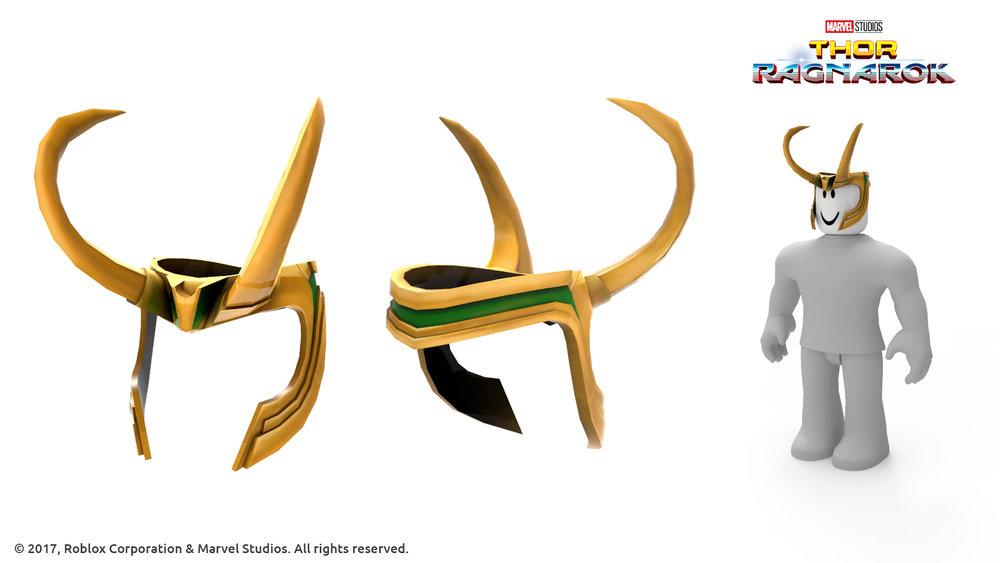 Loki's Helmet - Thor Ragnarok