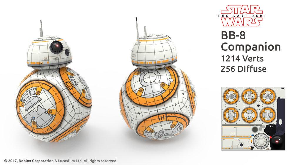 BB-8 Companion wireframe