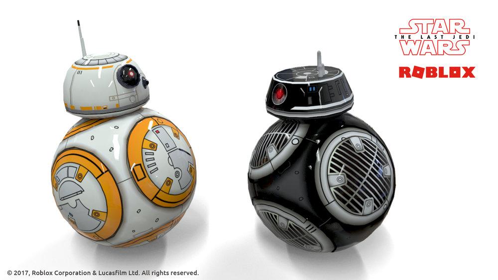 BB-8 BB-9E Companions