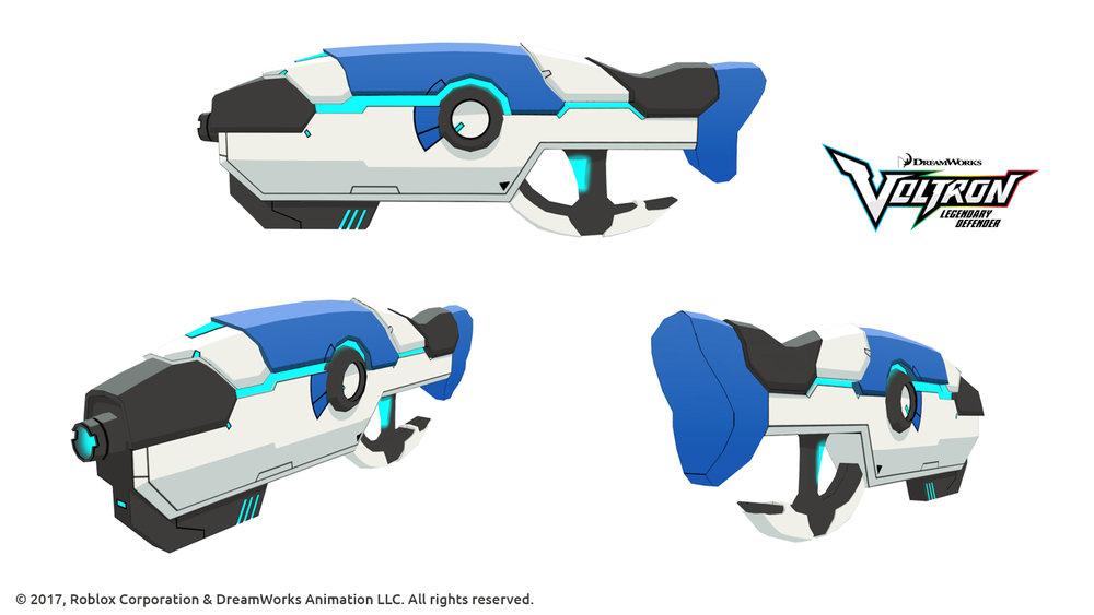 Voltron - Blue blaster