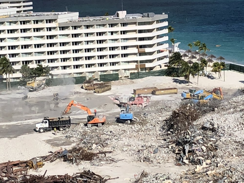 Crystal Palace Hotel Demolition