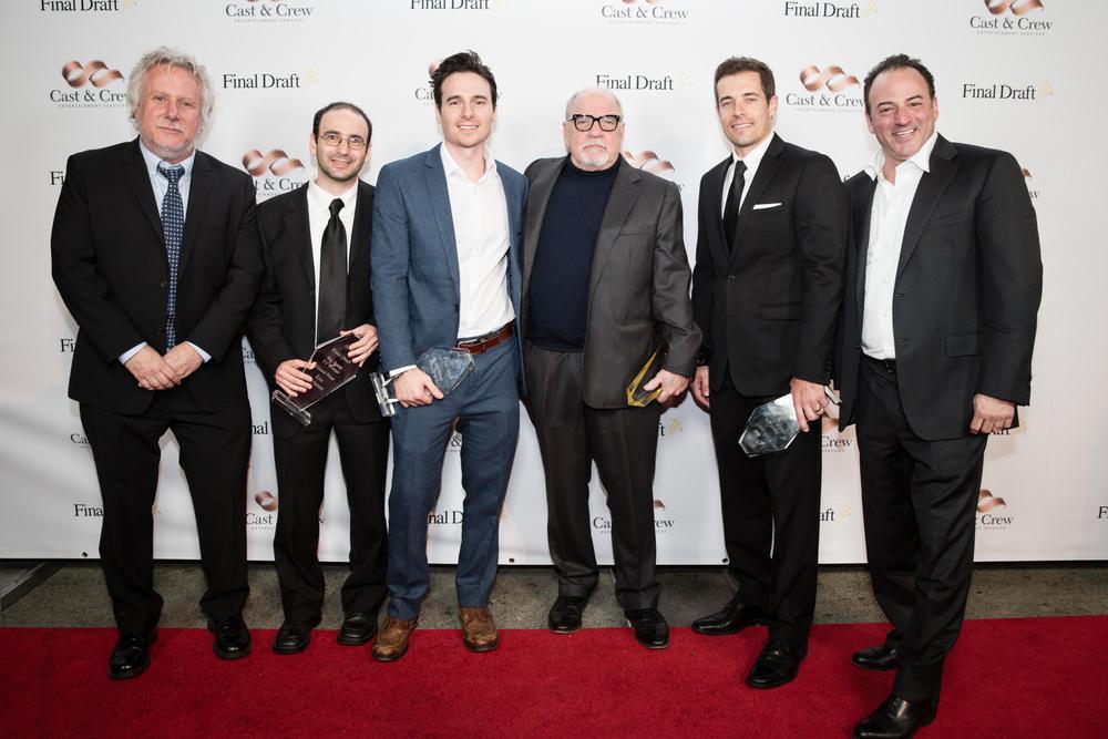 2016 Final Draft Awards with screenwriters Paul Schrader,Larry Kraszewski, Daniel Bonjour,Eric Buchman and Marc Madnick
