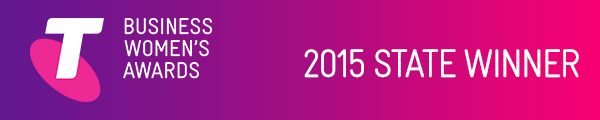 Telstra Business Women's Awards State Winner 2015