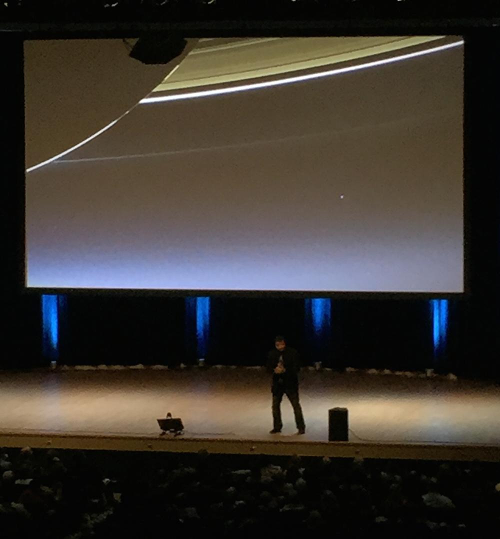 Neil deGrasse Tyson Pale Blue Dot