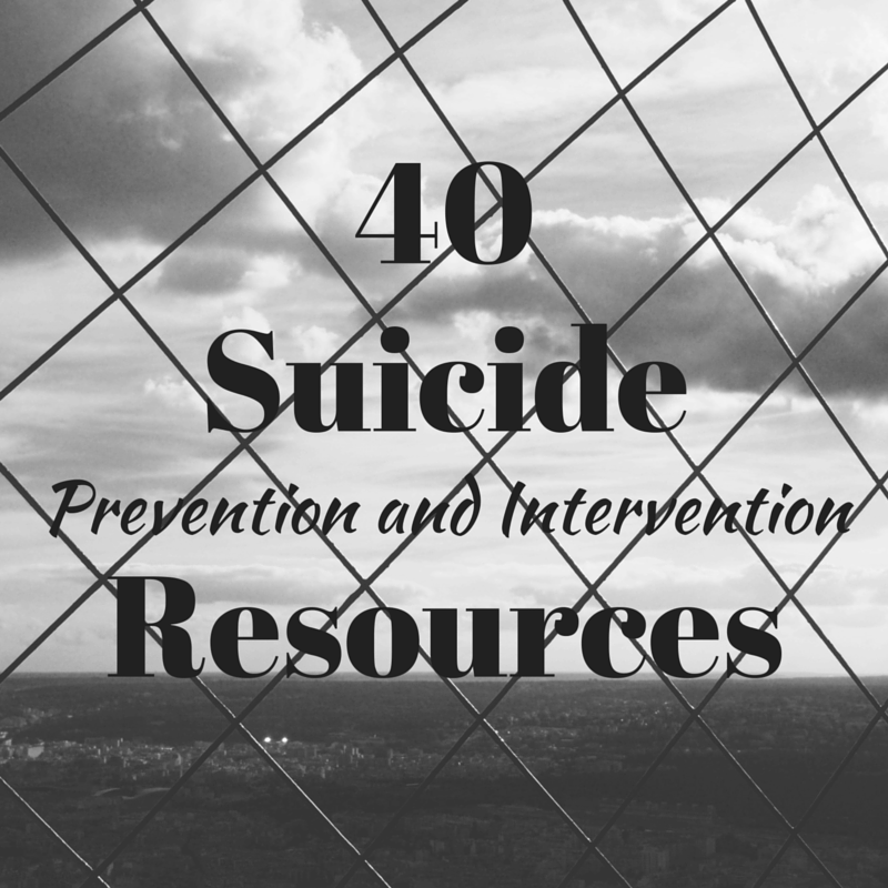 Suicide Prevention Resources
