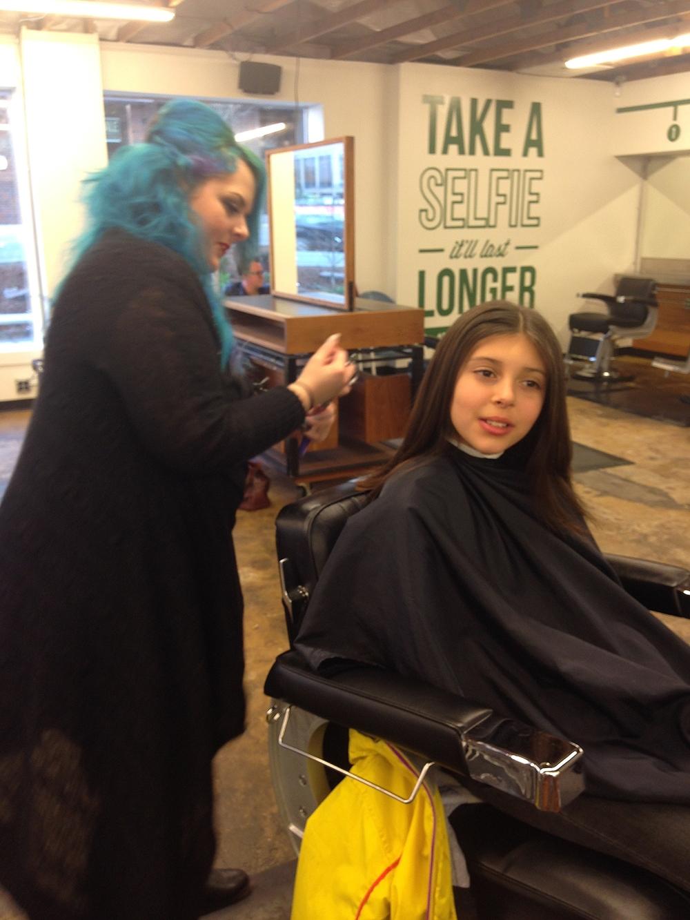 tween haircut