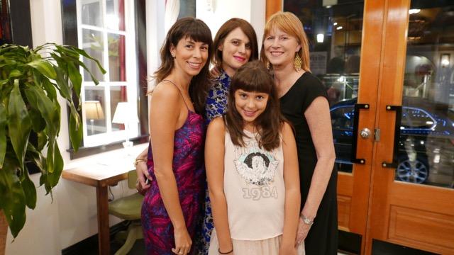 me, my mom, aunt Alison, & nana Karen