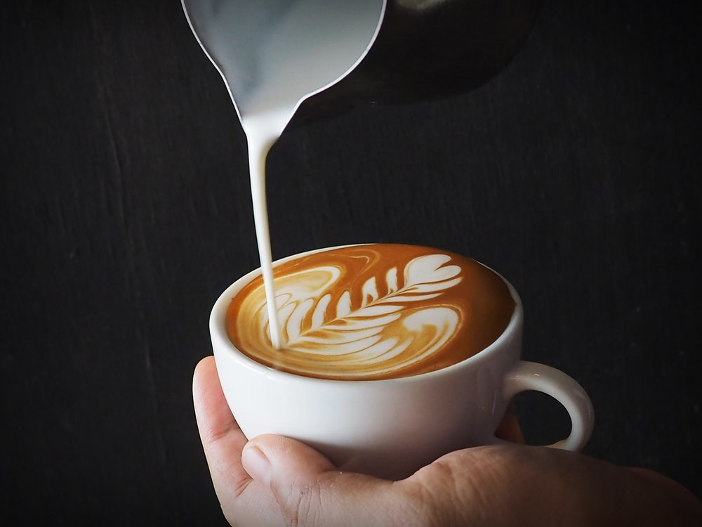 How To Tips Milk Latte Art Froth