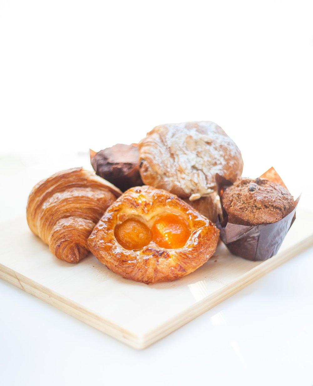 Our Parisian Artisan French pastries