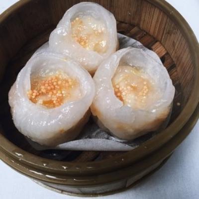 Pumpkin Shrimp Dumplings