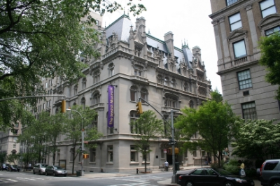 The Jewish Museum is located at 5th and 92nd on Manhattan's Upper East side.
