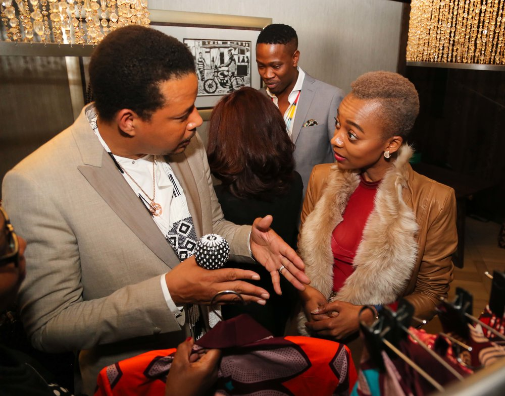 Sandi Meets Actor Terrence Howard