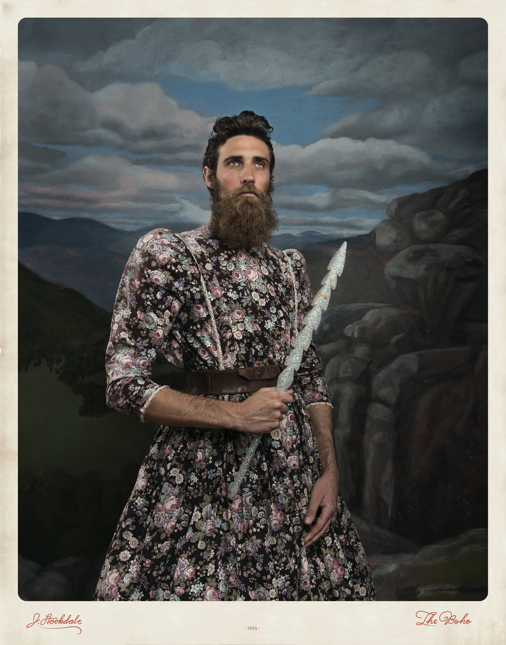 Jacqui Stockdale Man of Quinn 2016 Type C Print, edition of 8 + 2AP 140 x 110cm courtesy of the artist & THIS IS NO FANTASY and dianne tanzer gallery  AUD$5,500 unframed including commission and GST AUD$1,000 for framed edition including commission and GST