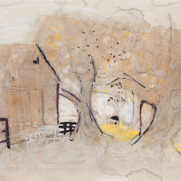 Craig Barrett Woolshed, Wanghambeam 2010 Mixed media 56 x 75cm $ 2, 200