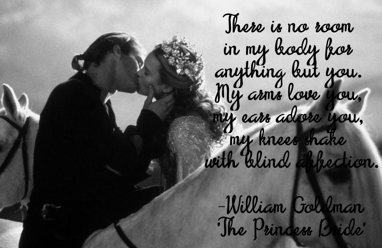 Truelove thursdays: The Princess Bride — Harlow Garland Weddings