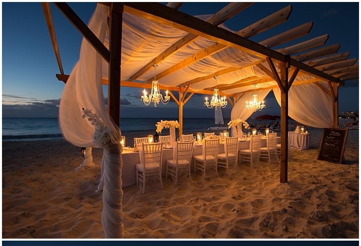 Beach Wedding  Image via: