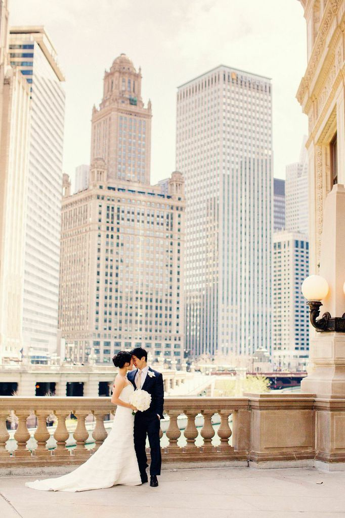 City Wedding Image via: