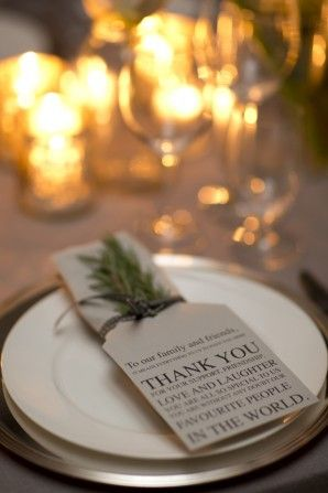 Herb placesetting