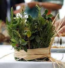 herb table decor