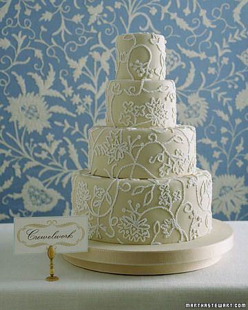 Traditional Wedding Cake.  Image via: