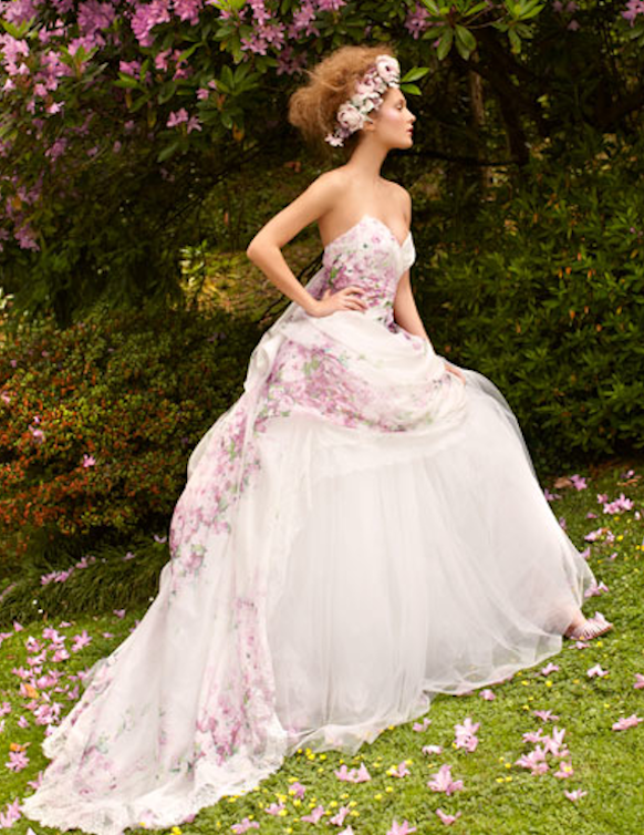 FridayFlorals: Floral Wedding Gowns — Harlow Garland Weddings & Events