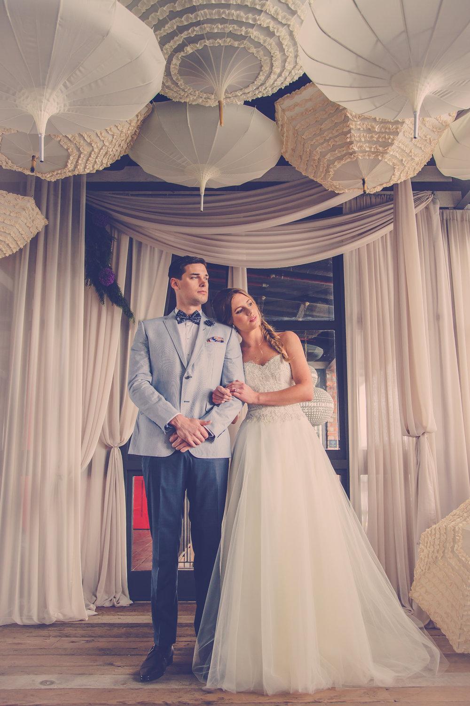 Bride & Groom Magazine 'Romantic' Shoot