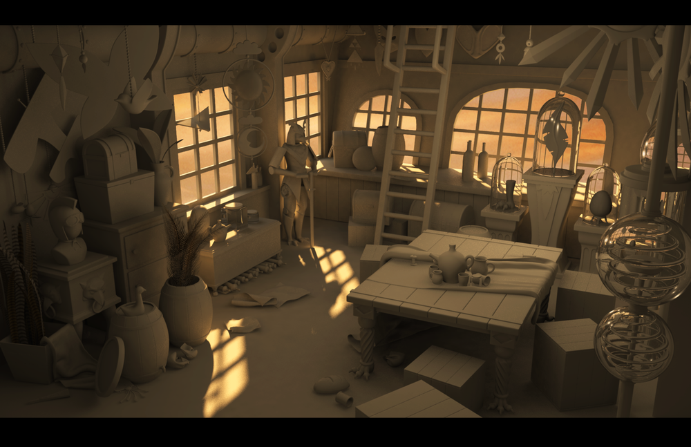 Harpy Airship: Common Room