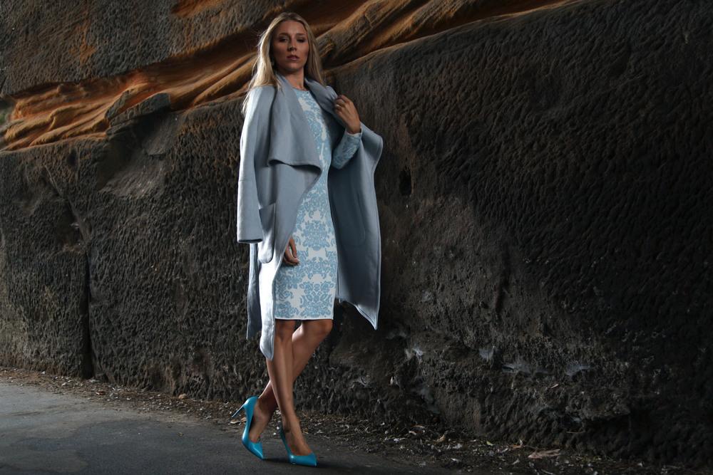sheike dress and coat