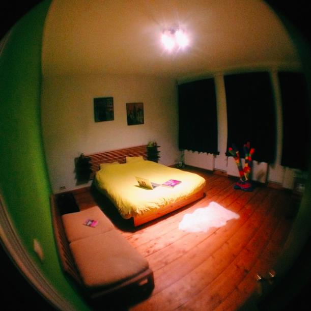 моя комната в Антверпене