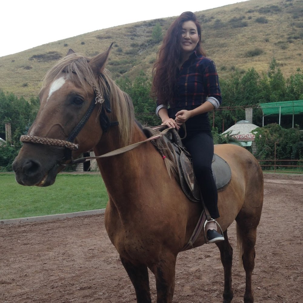 My hobby ride a horse.JPG