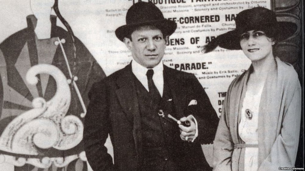 Пикассо и Хохлова