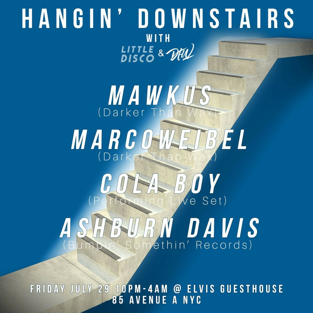 20b233045f Marcoweibel and Mawkus are gettin  down tomorrow night in NYC. Free party.  Solid vibes!