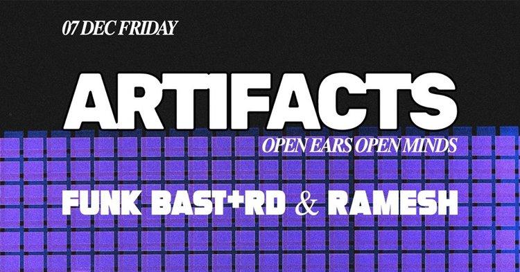Artifacts : Funk Bast*rd & Ramesh — Darker Than Wax