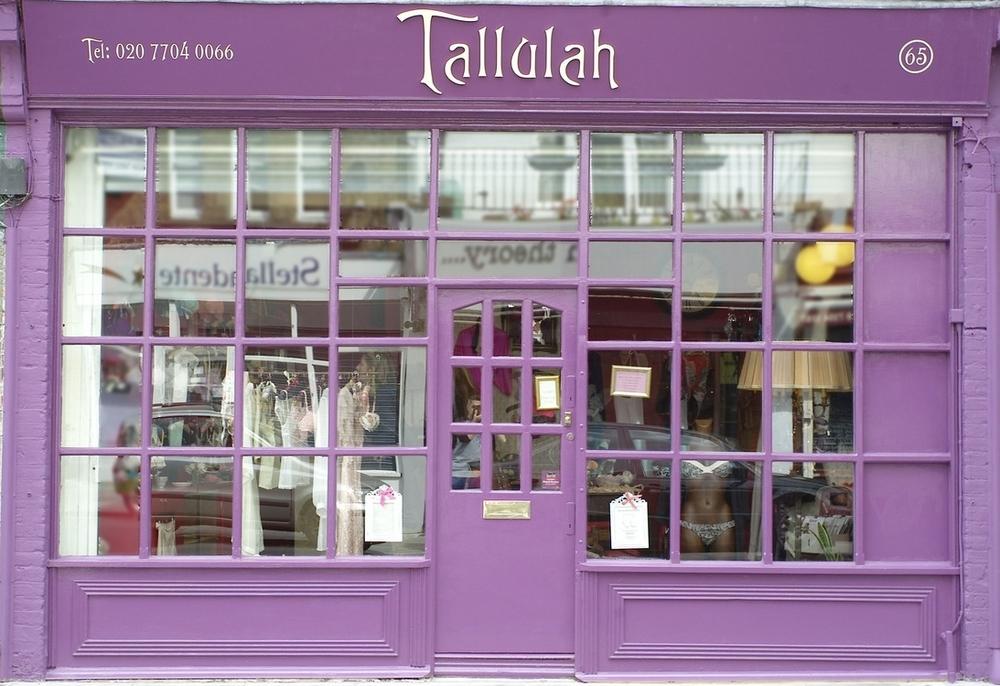 Tallulah Lingerie Shop