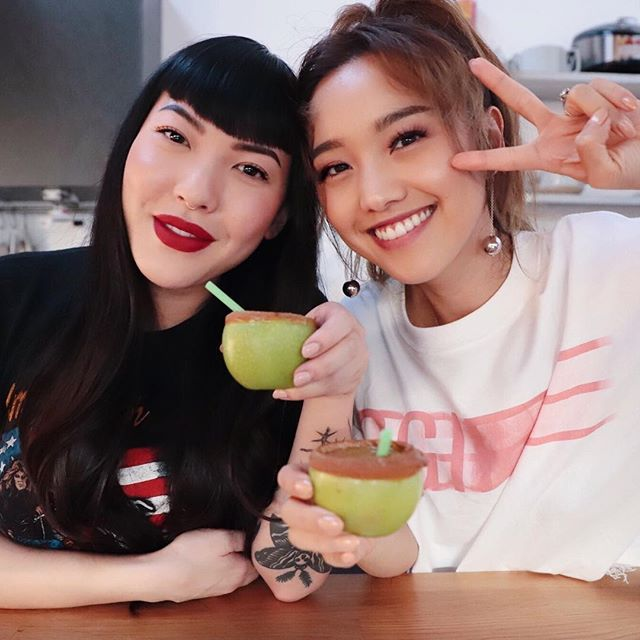 Episode 2️⃣ of SippingSista ft. @imjennim is now live on my channel!! We had such a fun time filming this one! 🍏 Check it out here: https://youtu.be/AE759skq9DY