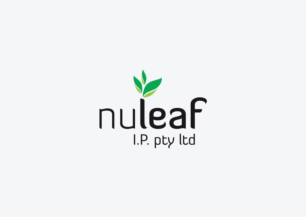 NuLeaf logo-haynes design