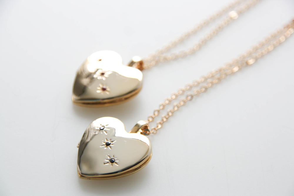 24k Gold Plated Locket