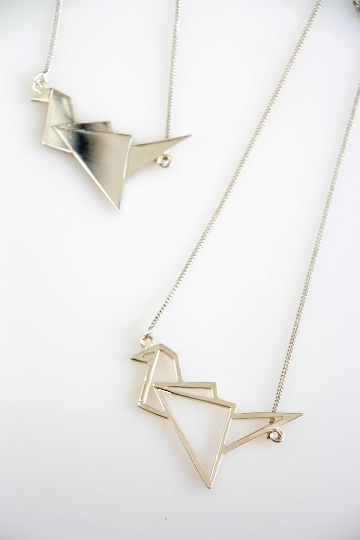 Silver Origami / 4118