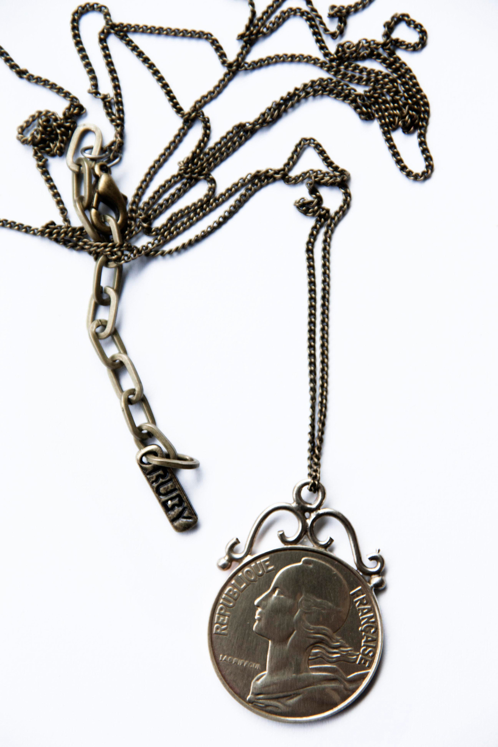 Upcycled French Franc coin pendant(3208).jpg
