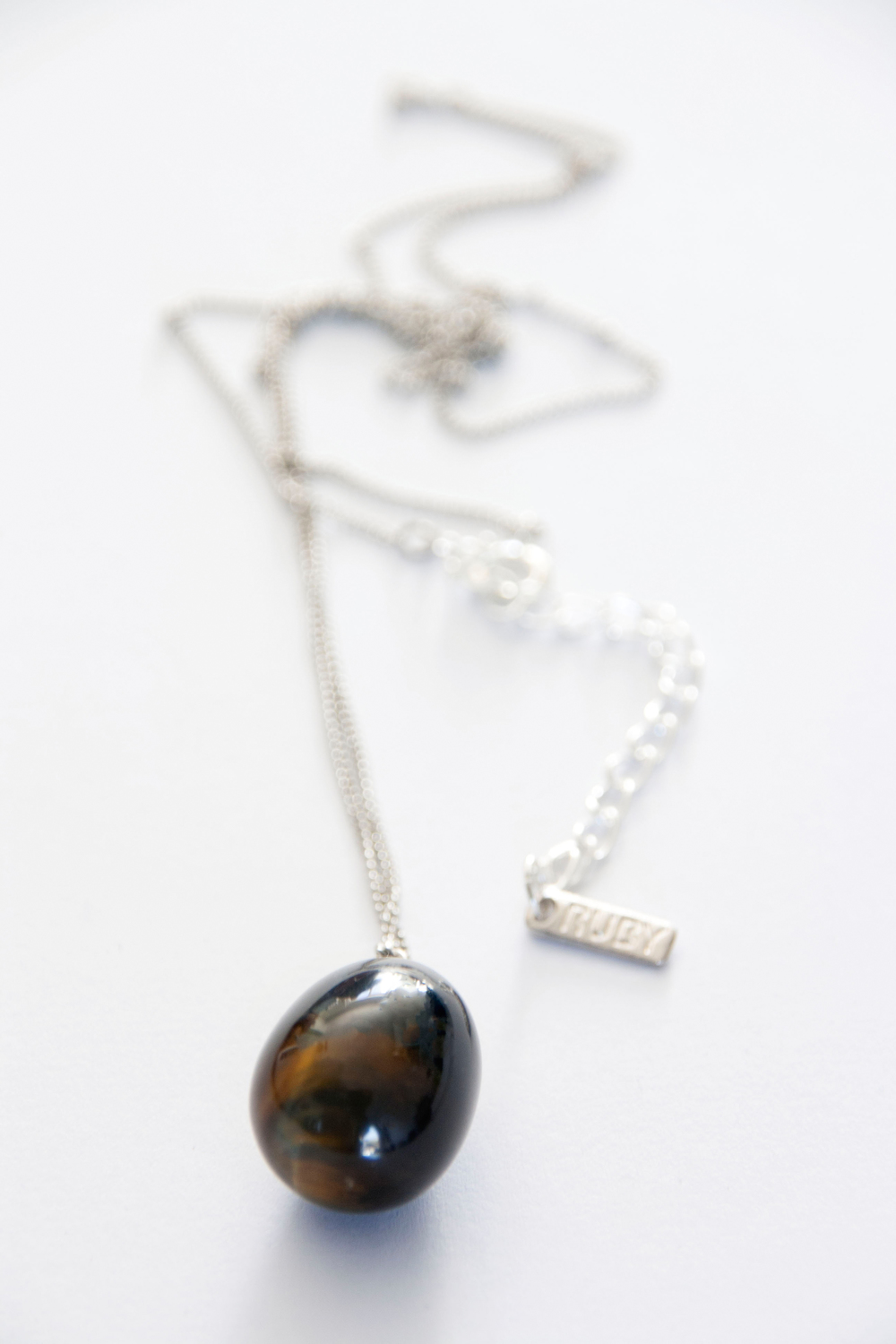 Blue Tiger's Eye Polished Ball pendnat (3207).jpg