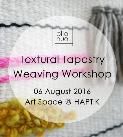 Olla Nua Tapestry Weaving Workshop